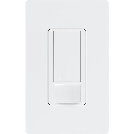Lutron Maestro White 900 Sq. Ft. Coverage 180 Deg. Detection Single-Pole Occupancy Sensor Switch