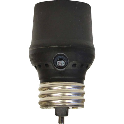 Westek Screw-In Bronze Dusk To Dawn Photocell Lamp Control