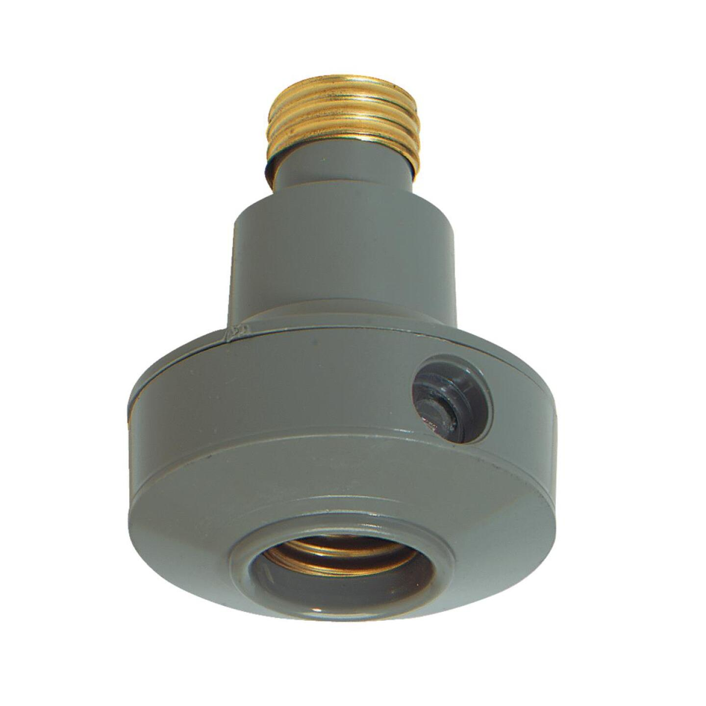 Do it Screw-In Gray Indoor/Outdoor Automatic Photocell Lamp Control Image 1