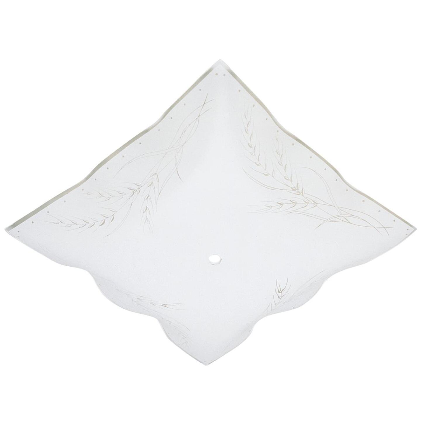 Westinghouse 12 In. White Square Wheat Design Ceiling Diffuser Image 1
