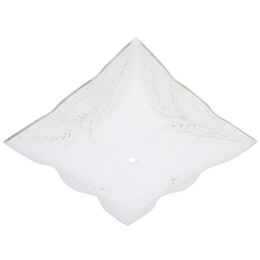 Westinghouse 12 In. White Square Wheat Design Ceiling Diffuser