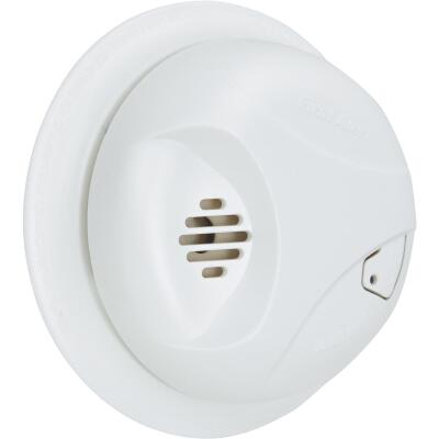 First Alert Battery Operated 9V Ionization Smoke Alarm with Hush