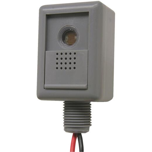 Do it Hard Wire Gray Adjustable Photocell Lamp Control
