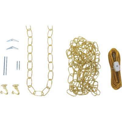 Westinghouse Brass Finish Steel Chain Swag Lamp Kit