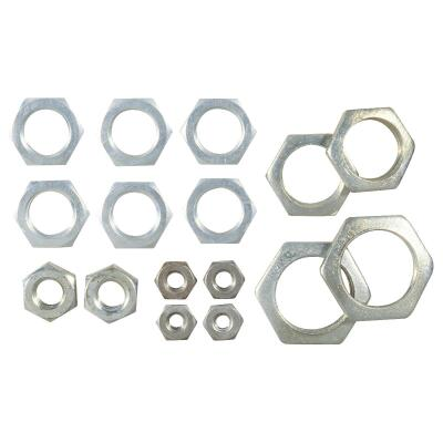 Westinghouse Steel 1/4 In. IP, 1/8 In. IP, 3/8 In. IP Lamp Fixture Lock Nut Assortment (16-Piece)
