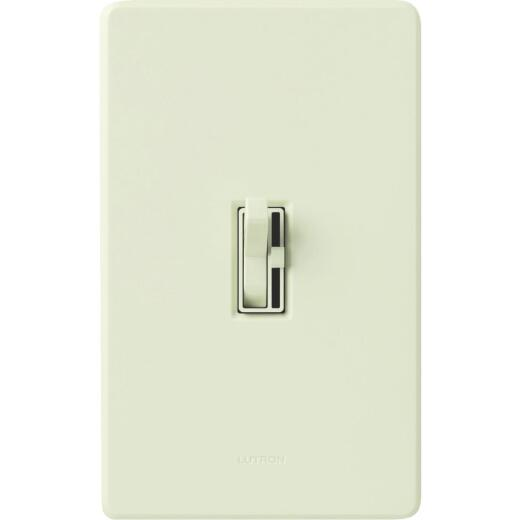 Lutron Toggler Incandescent Light Almond Preset Slide Dimmer Switch