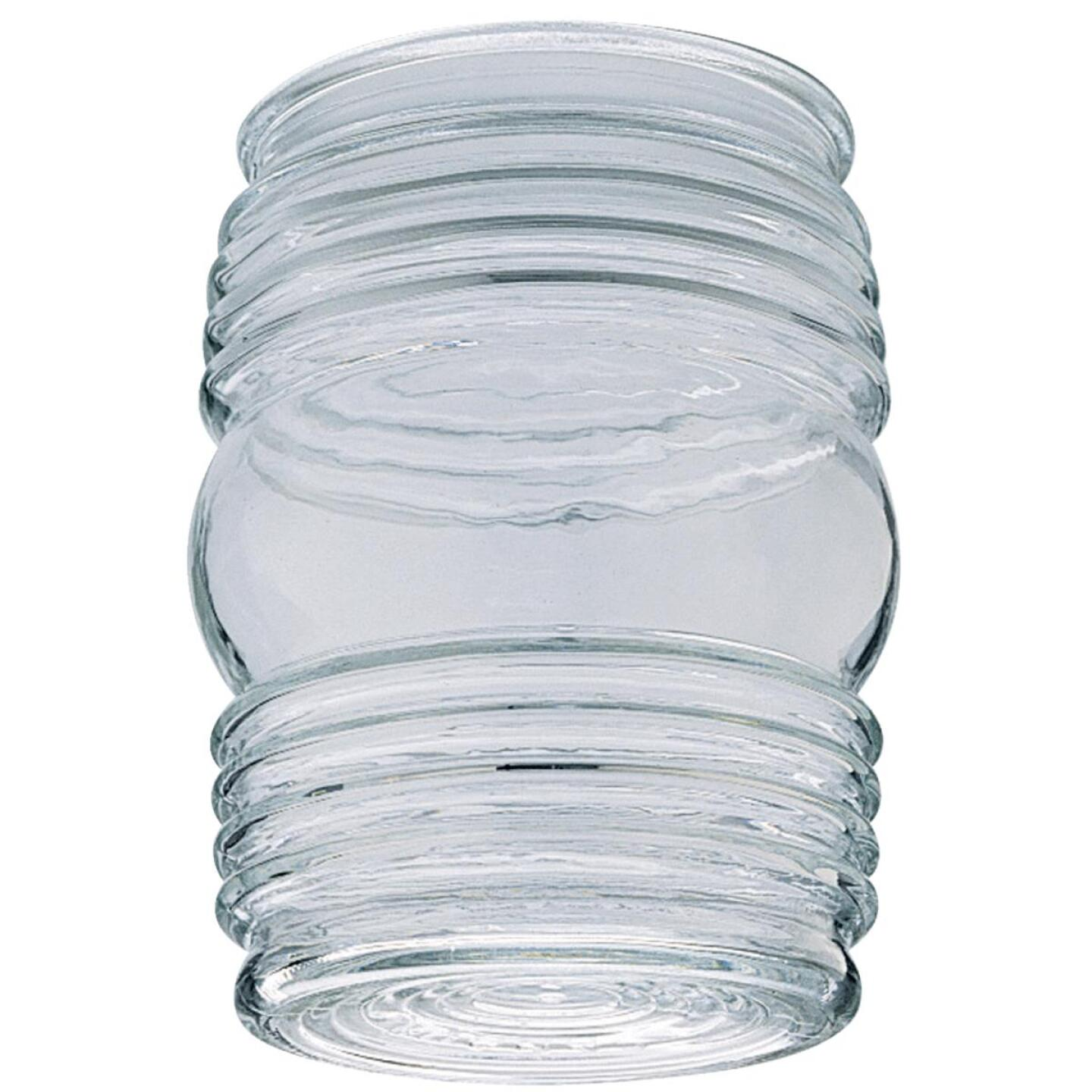 Westinghouse 4-3/4 In. Clear Jelly Jar Glass Shade Image 1