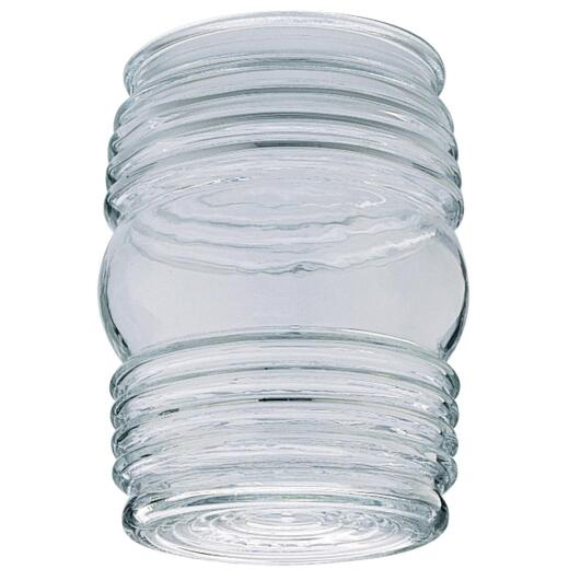 Westinghouse 4-3/4 In. Clear Jelly Jar Glass Shade