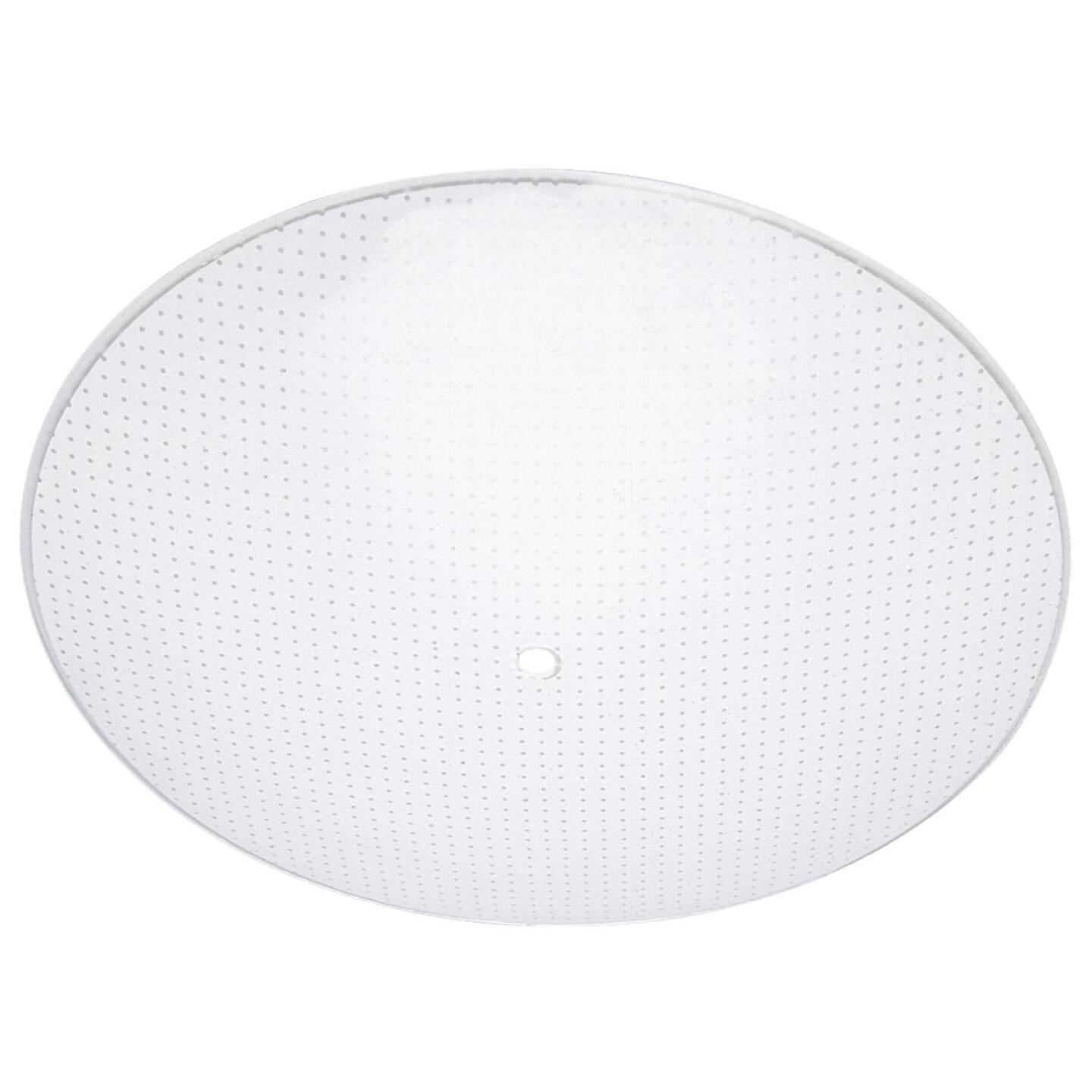 Westinghouse 15 In. Satin White Round Dot Pattern Ceiling Diffuser Image 1