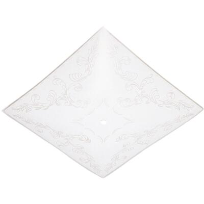 Westinghouse 12 In. White Square Floral Design Ceiling Diffuser