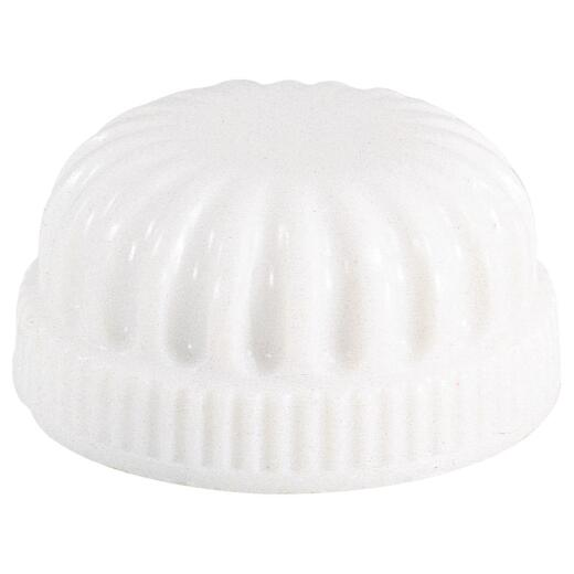 Westinghouse 11/16 In. Tapped 1/8 IP White Lock-up Cap (2-Pack)