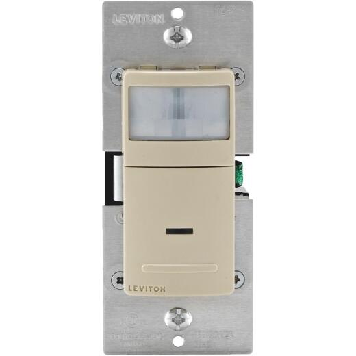 Leviton Ivory 900 Sq. Ft. 180 Deg. Universal Occupancy Sensor Switch