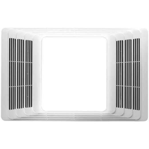 Broan 80 CFM 2.0 Sone Bath Exhaust Fan with Heater & Light