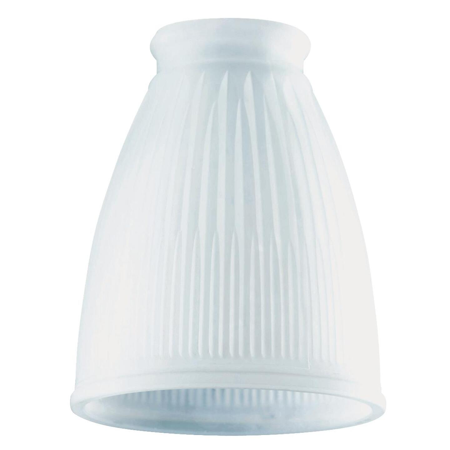 Westinghouse 5 In. Frosted Pleated Glass Shade Image 1