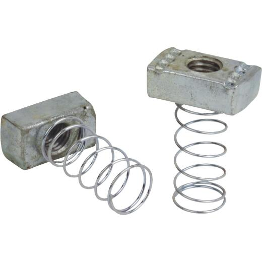 Superstrut 1/2 In. Self-Aligning A-Series Spring Nut