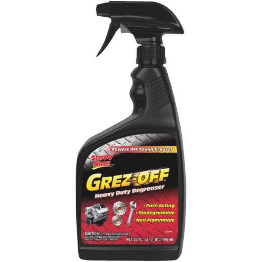 Spray Nine Grez-Off 32 Oz. Trigger Spray Degreaser
