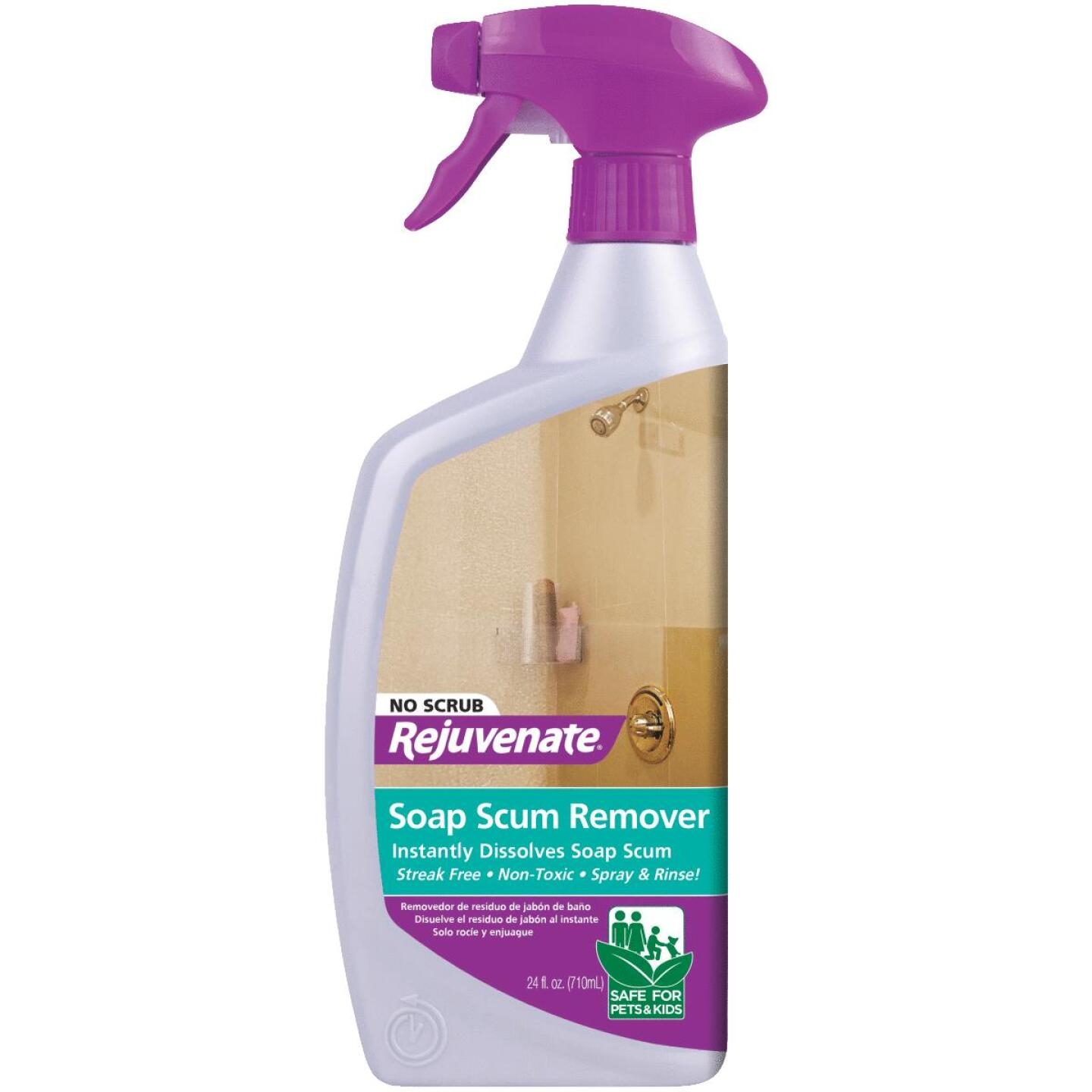 Rejuvenate 24 Oz. No Scrub Soap Scum Remover Image 1
