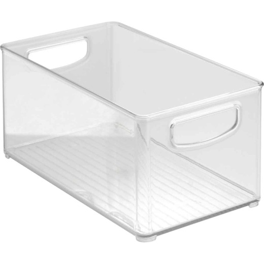 InterDesign Kitchen Binz 6 In. x 10 In. x 5 In. Clear Drawer Organizer Tray