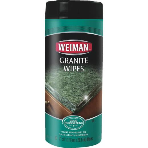 Weiman Granite Cleaning Wipes (30-Count)