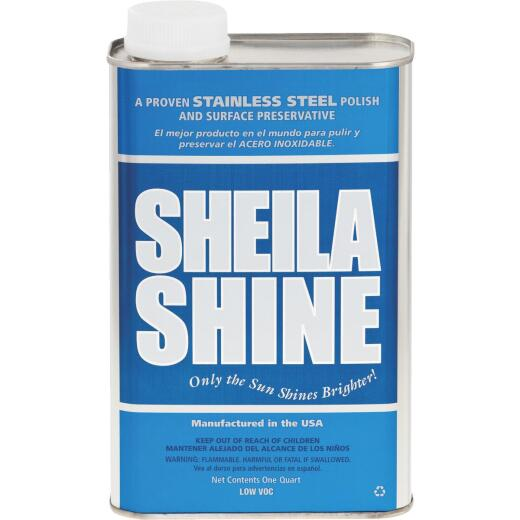 Sheila Shine 1 Qt. Stainless Steel Cleaner, Polish & Surface Preservative