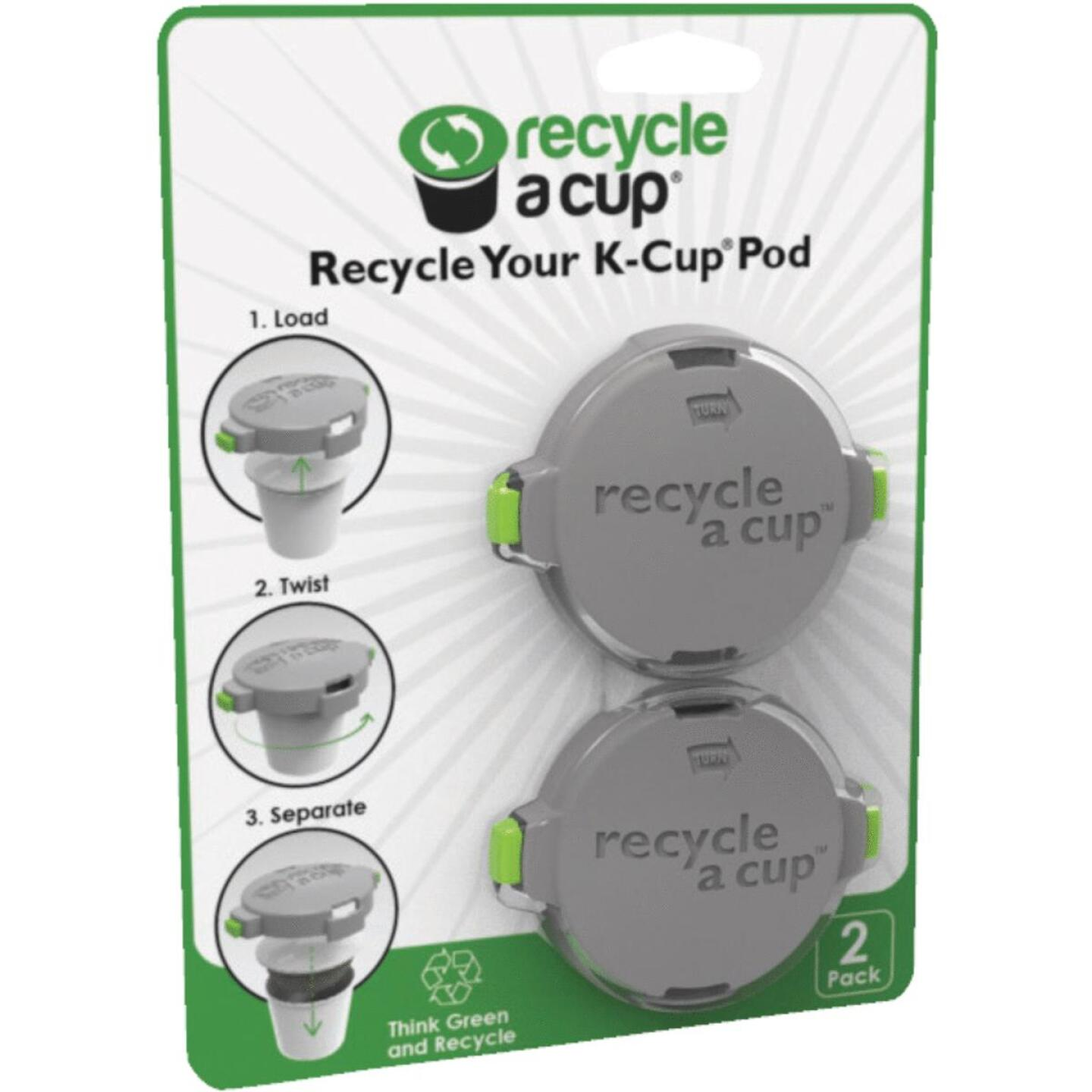 Recycle A Cup 2.125 In. Dia. Plastic K-Cup Pod Cutter (2-Pack) Image 1