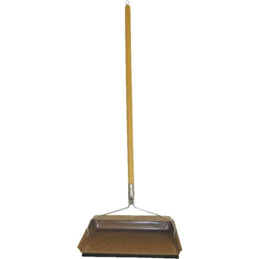 Fulton 30 In. Long Handle Dust Pan with Rubber Edge