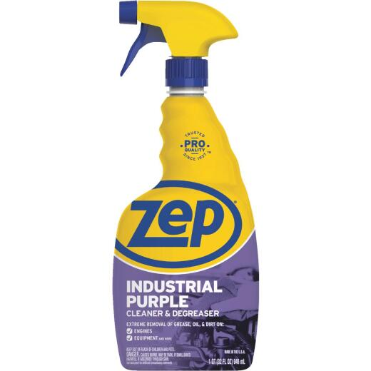 Zep 32 Oz. Industrial Purple Ready-To-Use Degreaser & Cleaner Spray