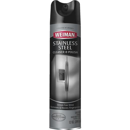 Weiman 12 Oz. Stainless Steel Aerosol Cleaner & Polish