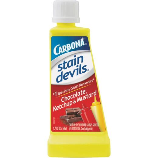 Carbona Stain Devils 1.7 Oz. Formula 2 Chocolate, Ketchup, & Mustard Stain Remover