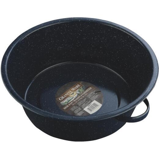 GraniteWare 10 Qt. Round Steel Dishpan
