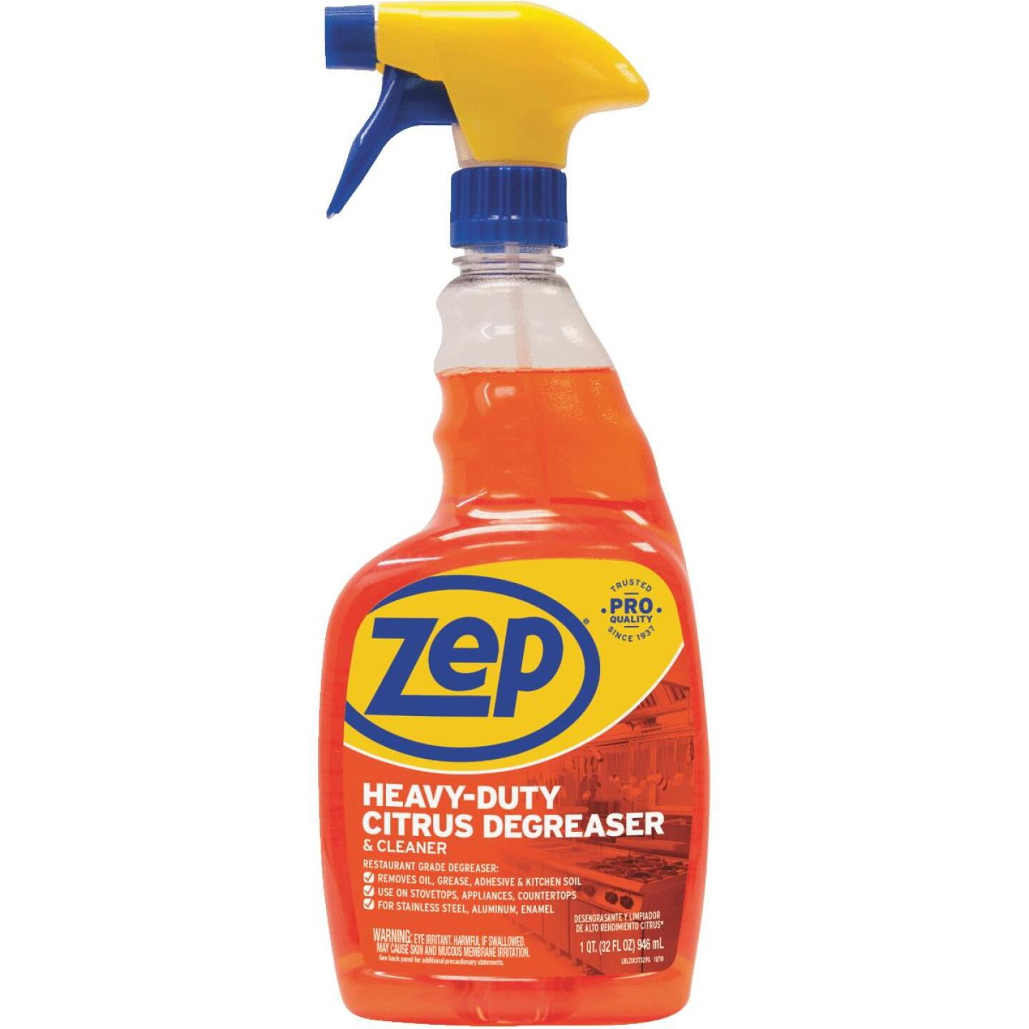 Zep Commercial Citrus 32 Oz. Liquid Cleaner & Degreaser Image 1