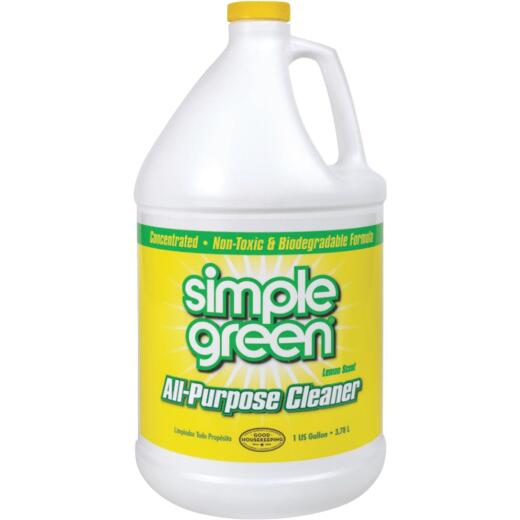Simple Green 1 Gal. Lemon Liquid Cleaner & Degreaser