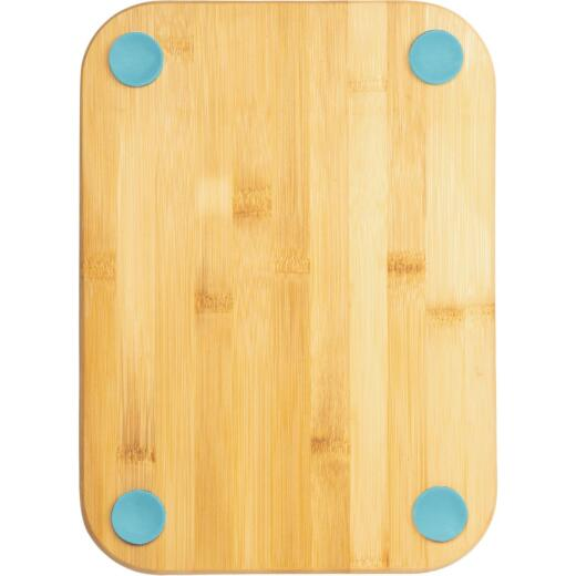 Core Natural Bamboo Nostalgia 9.5 In. Foot Grip Cutting Board