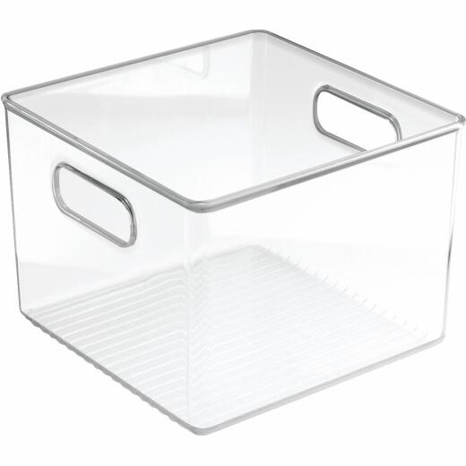 iDesign 8 In. W. x 8 In. D. x 6 In. H. Clear Fridge/Pantry Storage Binz