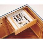 Rev-A-Shelf Trim-To-Fit White Cutlery Tray Organizer Image 1