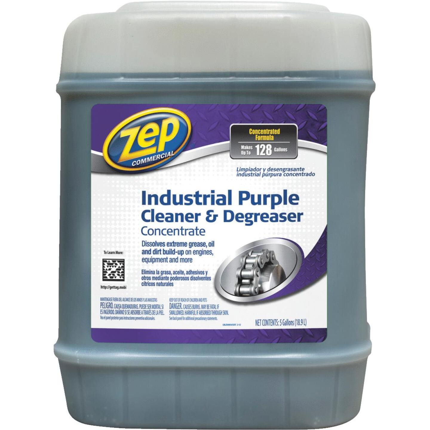 Zep 5 Gal. Industrial Purple Cleaner & Degreaser Concentrate Image 1