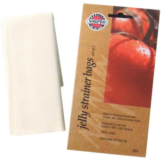 Norpro Jelly Strainer Replacement Bags (2 Pack)