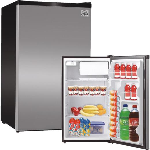 Perfect Aire 4.5 Cu. Ft. Silver Compact Refrigerator