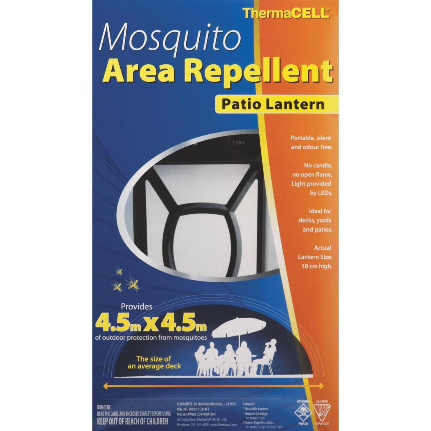 Thermacell 225 Sq. Ft. 12 Hr. Mosquito Repellent Patio Lamp Image 2