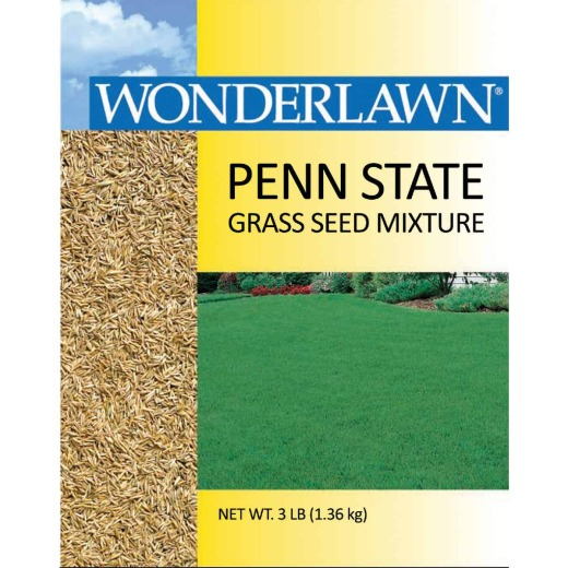 Wonderlawn 3 Lb. 500 Sq. Ft. Coverage Full Sun & Partial Shade Grass Seed