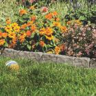 Suncast 6 In. H. x 12 In. L. Border Stone Poly Lawn Edging (10-Pack) Image 2