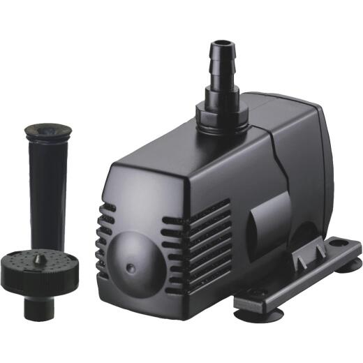PondMaster Eco 225 GPH 3/4 In. Pond Pump & Fountain Head Kit