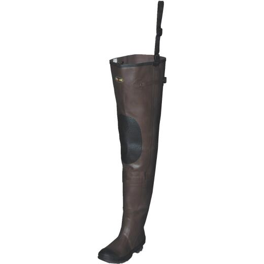 Pro Line Size 7 Cleated Men's Rubber Hip Boot Wader