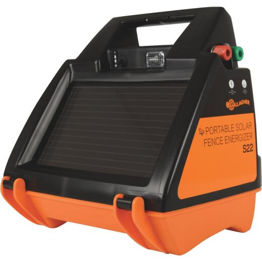 Gallagher S22 40-Acre Solar Electric Fence Charger