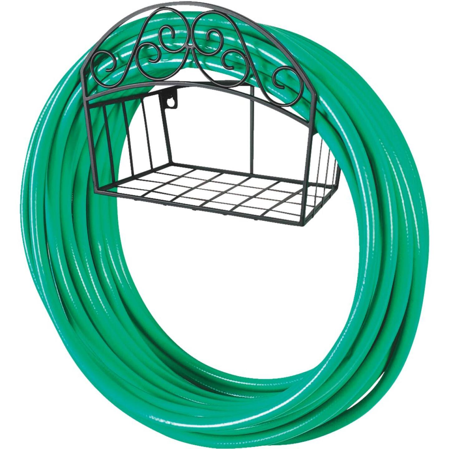 Liberty Garden 125Ft. x 5/8 In. Hose Capacity Decorative Wall Mount Hose Hanger Image 2