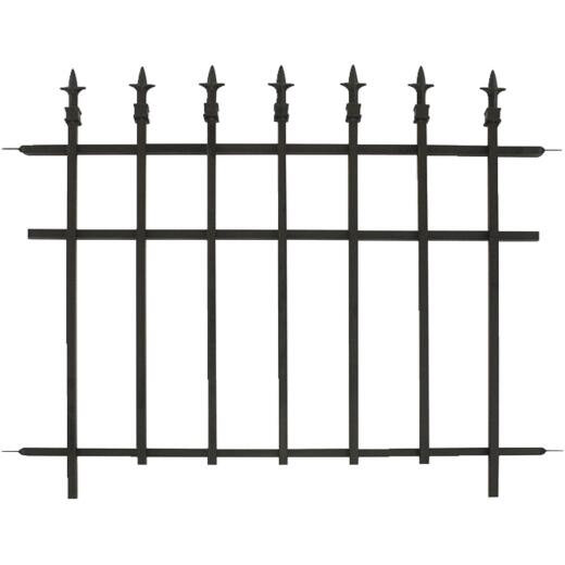 Panacea 30 In. H x 37 In. L Metal Decorative Border Fence