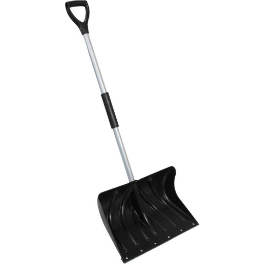 20 In. Poly Snow Shovel with 38 In. Steel Handle