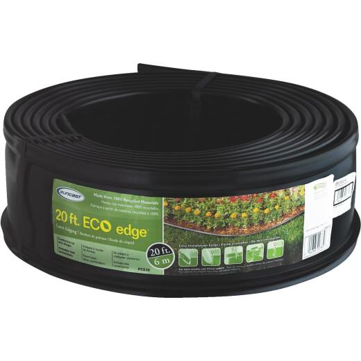 Suncast 5 In. H. x 20 Ft. L. Black Recycled Plastic Lawn Edging