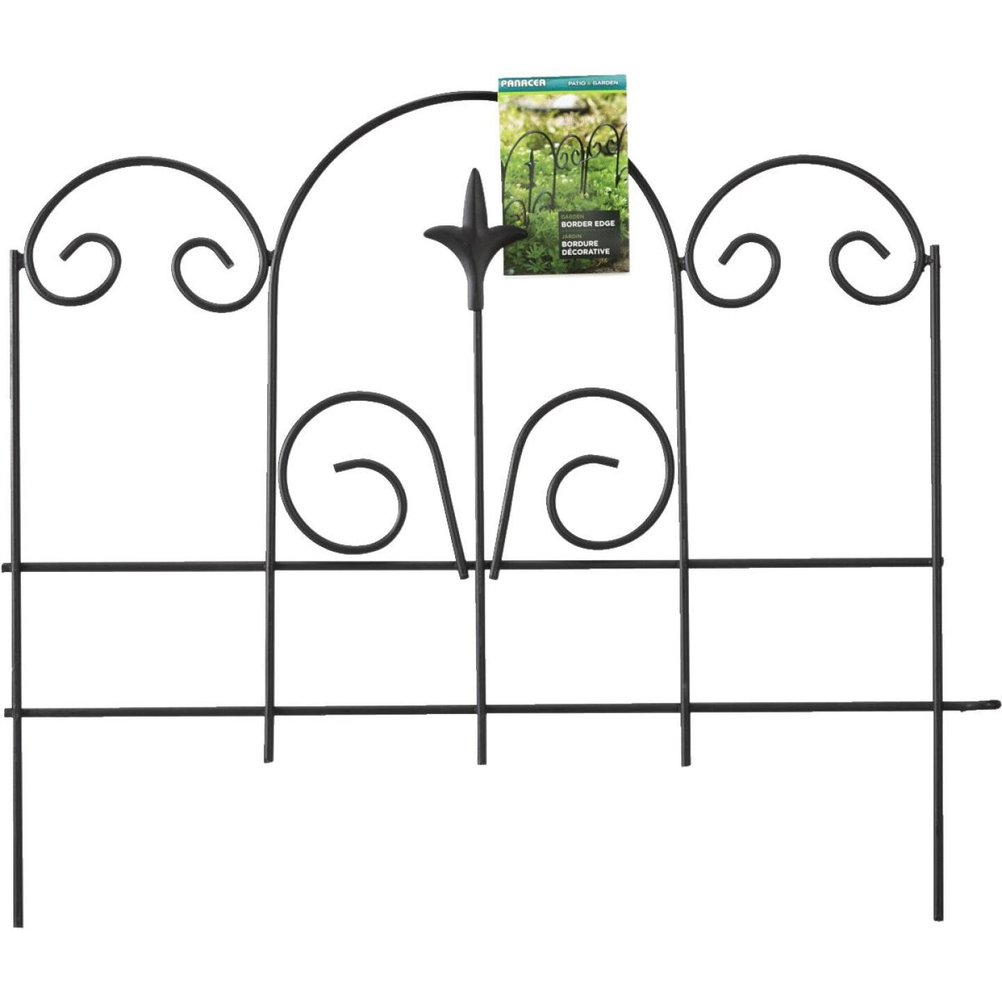 Panacea 16 In. H x 18 In. L Metal Decorative Border Fence Image 2