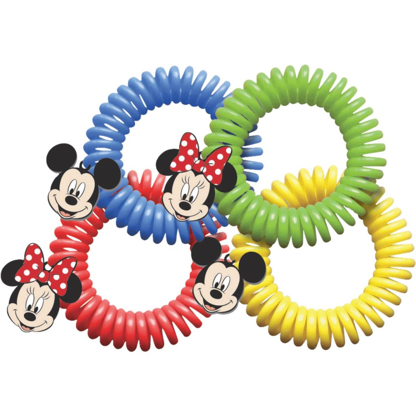 Evergreen Products Disney Assorted Color Insect Repelling Wristband Image 1